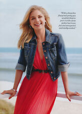 Emily Van Camp 6pg + cover LUCKY magazine feature, clippings