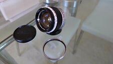 """Canon 50mm f/1.8 """"Rangefinder"""" Lens, Vintage 1950's"""
