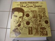 Elvis the Sun Years LP Record near mint SUN 1001
