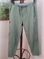 Mack Weldon Mens Green Elastic Waist Daily Wear Sweats (FF2)