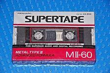 REALISTIC  SUPERTAPE  METAL  M II   60    BLANK  TAPE  (1)   44-950  (SEALED)
