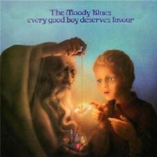THE MOODY BLUES - EVERY GOOD BOY DESERVES FAVOUR (REMASTERED)  CD 11 TRACKS NEU