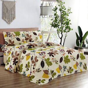 3 Pieces Garden Themed 7 Comforter Set - Queen King