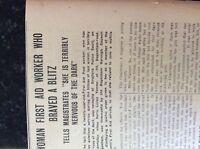 M3-9a ephemera 1941 dagenham ww2 article doris vanner