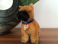 Steiff Hund DOG Boxer SARRAS stehend, Schild, wie 1310, 10 cm sehr guter Zustand
