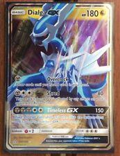 Pokemon Card   DIALGA  GX   Ultra Rare  100/156  ULTRA PRISM  ***MINT***