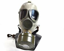 Czech Army military gas mask CM-4. Mask and filter. NEW. Large size. grey rubber