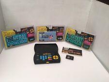 NIP 1993 Tiger Electronics Quiz Wiz Question Answer Game Book Cartridges W/Game