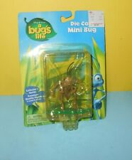 Disney Pixar A Bug's Life Hopper Grasshopper Die Cast Mini Bug Thinkway Toys