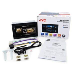 "JVC KW-M150BT Android USB Mirroring 1080p Bluetooth Digital Media Player 6.75"""