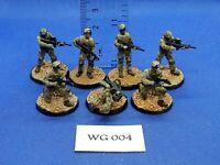Wargames/R.P.G./Rol/Apocalipsis - Soldados Americanos Actuales x7 - WG04