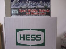 2004 Hess 40th Anniversary Sport Utility Vehicle & Motorcycles Unopened Case