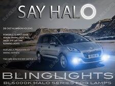 2014 2015 2016 Peugeot 5008 Halo Fog Lamp Angel Eye Driving Light Kit w/ Harness