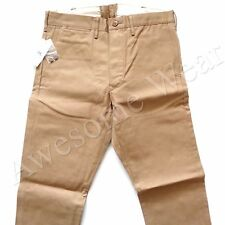 New Ralph Lauren RRL Khaki 100% Rigid Cotton Chino Pants size 29 x 30