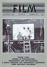 JOHN HUSTONMonthly Film BulletinDec1985
