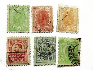 Sellos (7) Rumania principios siglo XX - I Guerra Mundial
