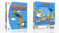 Beats of Rage: The Simpsons Arcade Game Dreamcast Game Case Box + Cover Art Work