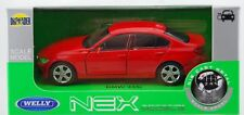 WELLY BMW 335i F30 RED 1:34 DIE CAST METAL MODEL NEW IN BOX