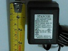 POWER SUPPLY; OUT 12VDC@0.2A; 120V AC IN, UNREGULATED STA SERIES, STANCOR 3512B