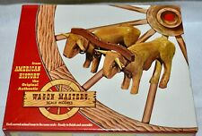 Vintage Wagon Masters Ox Team Wooden Kit 952:298