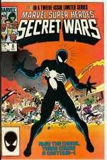 MARVEL SUPER HEROES SECRET WARS #8 7.0 // ORIGIN OF ALIEN SYMBIOTE VENOM