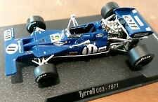 Jackie Stewart World Champion 1971, Tyrrell Ford 003, Modellauto, Modellcar 1:43