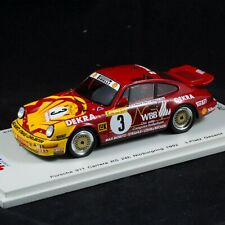 Porsche 911 964 Carrera RS 24h Nurburgring 1992 1/43 Spark Mini Auto MAB014