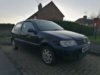 VW POLO 1.0 6N2 LOW MILEAGE