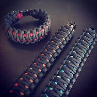 Paracord Survival King Cobra Weave Standard Bracelet USA CUSTOM MADE TJParacord