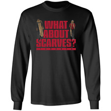 Men's What About Scarves Serge Ibaka OG Anunoby Basketball Black T-shirt M-3XL