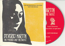 BEVERLEY MARTYN The Phoenix And The Turtle 2014 UK 9-track promo test CD