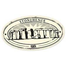 "Stonehenge travel car bumper window suitcase sticker 5"" x 3"""
