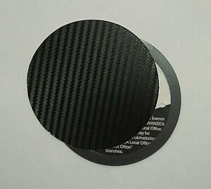 magnetic tax disc holder carbon fibre fits any car