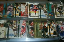 16 different Autographed hockey cards!