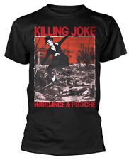 Killing Joke 'Wardance & Pssyche' (Black) T-Shirt - NEW & OFFICIAL!