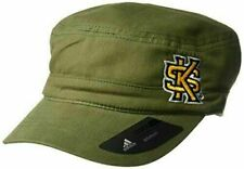 New Adidas NCAA Kennesaw State Owls Adult Women Army Green Military Hat