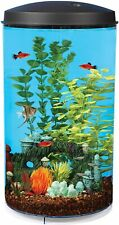 00004000 New listing Koller Products AquaView 6 Gallon 360 Fish Tank with Power Filter & Led Lighting