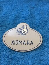 Walt Disney World Cast Member Name Tag Badge 20 Year XIOMARA