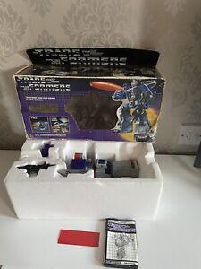 Vintage 1986 Transformers G1 Galvatron Decepticon Boxed Complete
