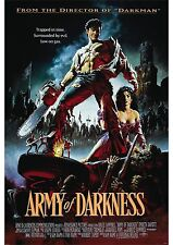 Army of Darkness - The Evil Dead - Bruce Campbell - A4 Laminated Mini Poster