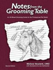 Notes from the Grooming Table