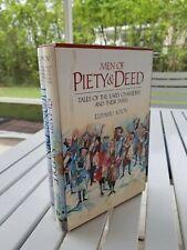 Judaica Men Of Piety & Deed By Eliyahu Kitov 2 Volume Set 2005 In A Slipcase