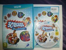 Family Party Obstacle Arcade Nintendo Wii U UK PAL 30 Great Games