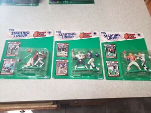 1989 Kenner Starting Lineups Football One on One Set Break combined shipping