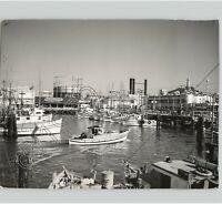 FISHERMAN'S WHARF SAN FRANCISCO, CALIFORNIA Embarcadero 1950s Press Photo