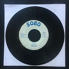 "BARRY BROWN Payday SOBO 1987 Jamaica 7"" 45 VINYL REGGAE DUB"