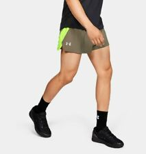 Under Armour UA Men's Launch SW Split Running Sports Shorts - Brown - New
