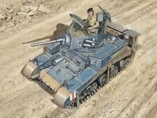 Italeri 1/56 M3 Stuart Light Tank Plastic Model Kit 15761