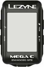 Lezyne Mega C GPS Bike Computer - GPS, Wireless, Black