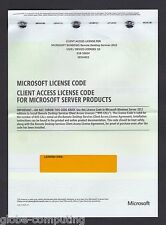 Microsoft Windows Server Remote Desktop Services 2012 RDS 25 USER CAL License